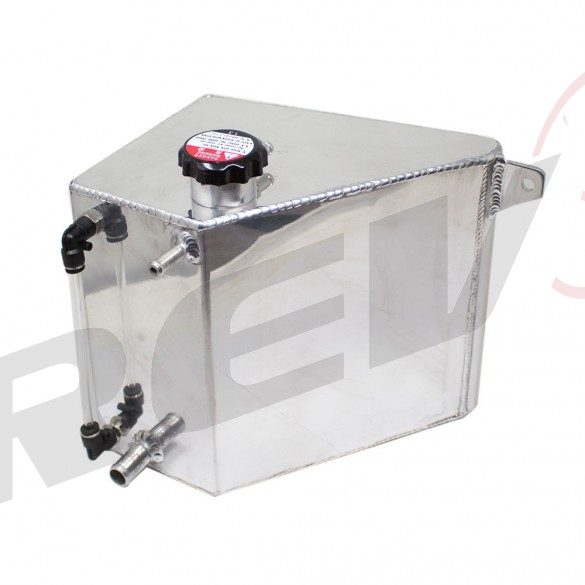 REV9 ALUMINUM COOLANT EXPANSTION OVERFLOW TANK FIT AVURA
