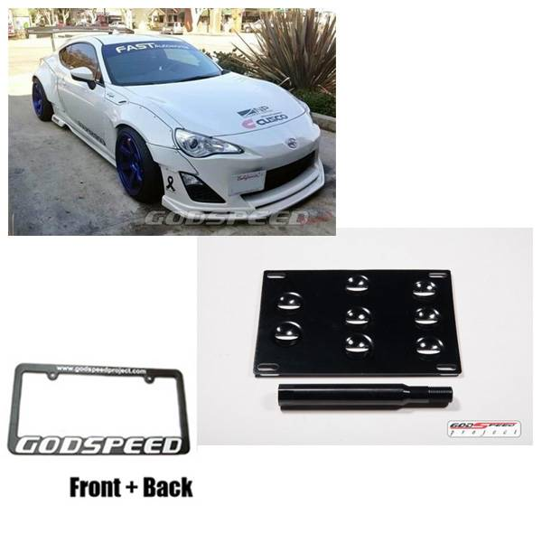 Fit Scion frs fr-s ft86 fa20 jdm style license plate mount kit / tow ...