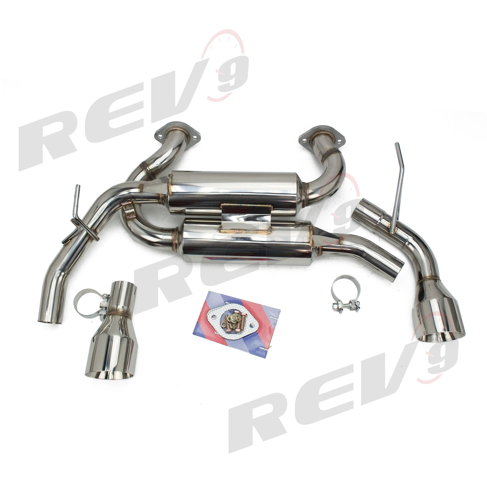 rev9 flowmaxx stainless axle